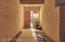 Entry door has a full length side light.