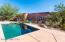 Private pool oasis with solar heating, lagoon area and pebble tec surface!