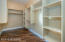 Large Walk-in Master Closet w/ Brazilian Pecan Hardwood Floors