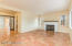 6' Saltillo flooring, converted gas fireplace, great natural light.