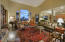 Spacious and bright great room off of kitchen makes it easy to entertain guests!