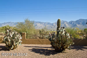 An expansive view of the Catalinas includes Mt. Lemmon & Pusch Ridge.