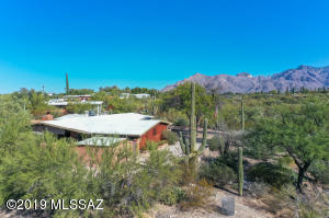 View to East - Catalina Mountains