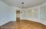 Dinign room off kitchen