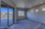 Patio Door to Rear Porch, headboard lights and celestry windows