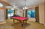 Enter the home in to a large living/dining area...or game room!
