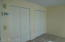 Double upstairs bedroom closets