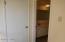Upstairs hall closet