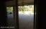 Living room slider to back porch