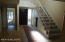 Door to second large bedroom downstairs