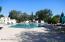Three feet to ten feet deep heated pool