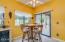 Kitchen Nook with Patio Door