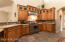 Beautiful cabinetry and granite counter tops