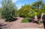 Nicely landscaped backyard