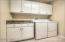 Laundry Room with storage cabinets - washer & dryer included!