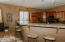 Kitchen with Granite and Cherry cabinets