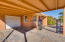 A covered carport AND a garage!