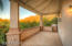 Walk out from master suite and watch your mountains glow from the sunset