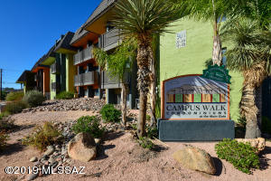 Campus Walk Condos and only steps away from U of A campus & Main Gate Square