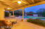 Large east facing covered patio.