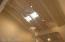 Shoji screen ceiling