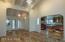 great room/kitchen