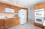 Double ovens , refrigerator stays