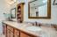 Master bath with shower, jetted tub and walk-in shower