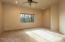 Large room with closet could be bedroom or a bonus room that can be used as a media room, play room or exercise room