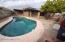 300 square foot pool with pavers around cool decking