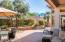 Beautifully landscaped backyard