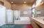 Master bedroom bath with shower and tub