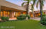 Separate artificial turf lawn easily accessed directly from the master bedroom/bath as well as the back pool/patio areas.