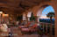 Spacious Covered Patio with Panoramic Views of the Valley and Mountain Ranges