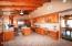 Huge kitchen with modern appliances