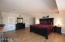 Master bedroom is huge - that's a king size bed