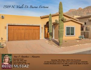 7589 N Viale Di Buona Fortuna, Tucson, AZ 85718
