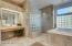 Master Bath, Tub and Walk in Shower.