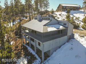 Drone Picture of the Cabin