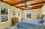 Charming wood beams and door to side yard access
