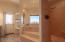 Separate walk in shower and jetted tub. Upgraded shower unit in shower.
