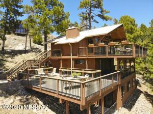 Outside of cabin, bottom deck