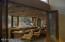 Bar adjacent to the Living Room