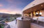 Outdoor kitchen with every amenity
