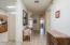 Lovely neutral tile flooring in main living areas