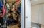 Cedar Line Master Closet