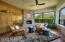 Billard Room with Fireplace