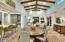 Elegant dining & casual bar seating