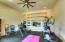 Exercise Room w/Doors to Backyard Oasis