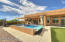 Built-In Endless Pool, Patio w/Sunshades and Golf Driving Net